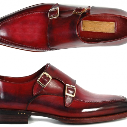 Two Tone Monk Burnished Toe Double ..
