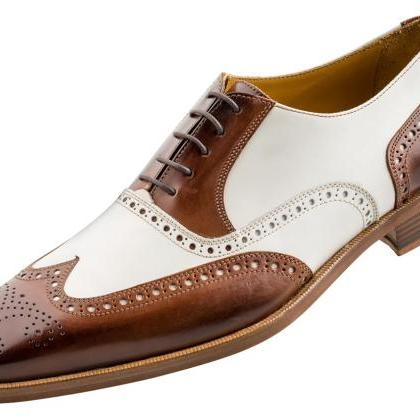Handcrafted Men's Oxford Burnished ..