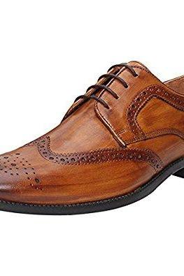 Made To Order Hand Stitched Brogue Toe Wingtip Tan Brown Oxford Leather Lace up Shoes